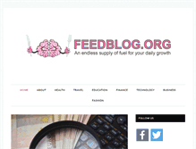 Tablet Preview of feedblog.org